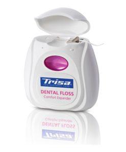 Aţă dentară expandabilă şi mentolată